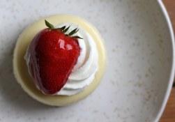 Mini cheesecake from Stuart's Bakery