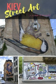Kiev Street Art (+ a Side of Brunch)