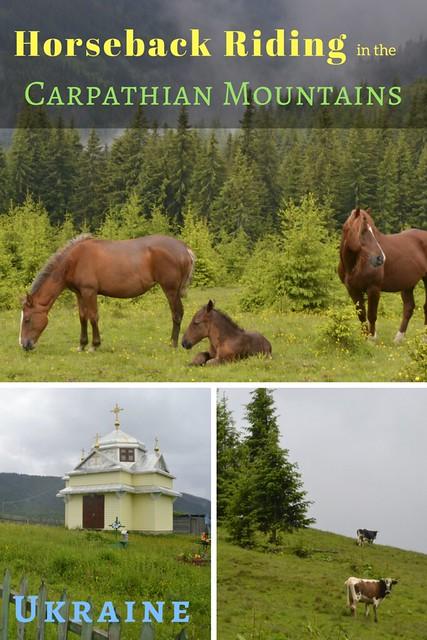 A 2 Day Horseback Riding Trip in the Carpathian Mountains, Ukraine