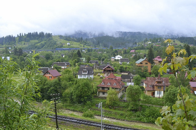 Horseback Riding Trip in the Carpathians _ Train