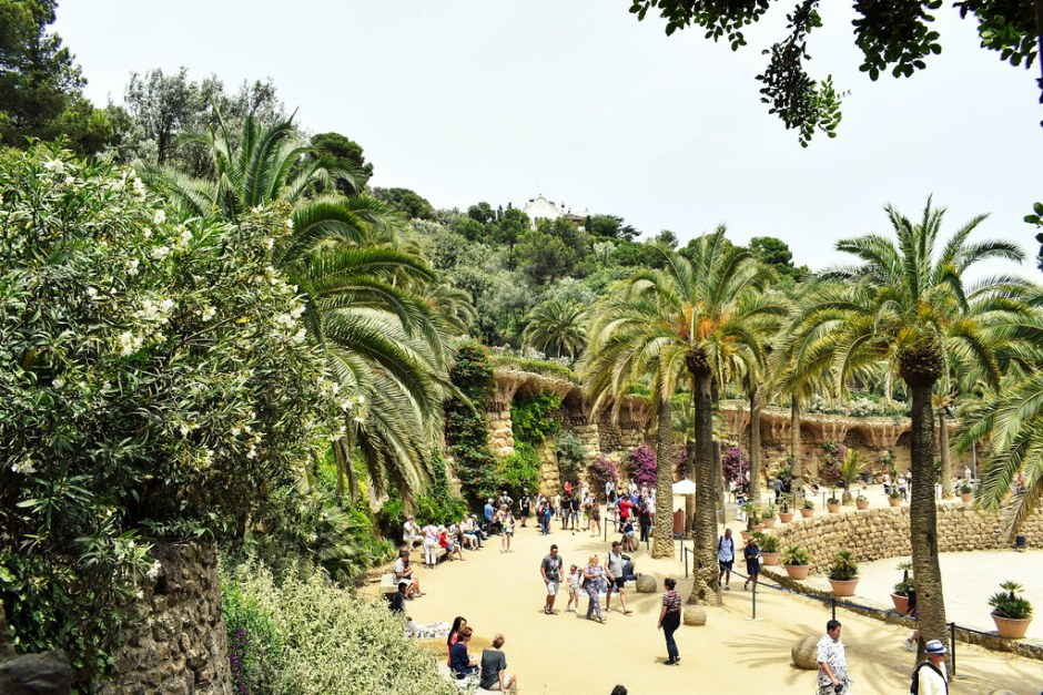 weekend in barcelona-park guell2