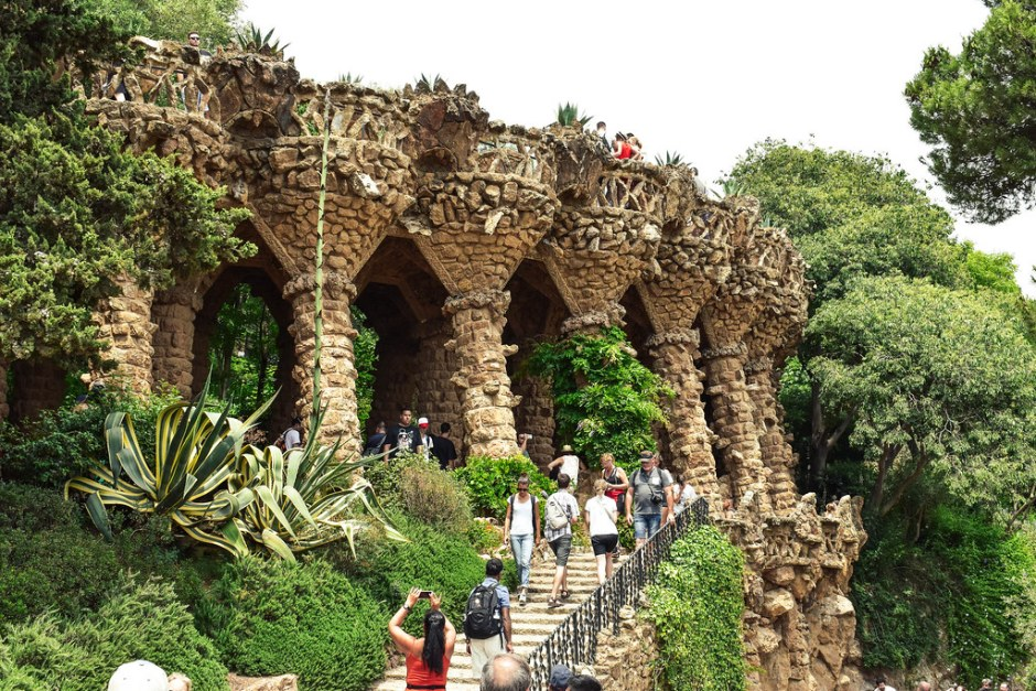 weekend in barcelona-park guell4