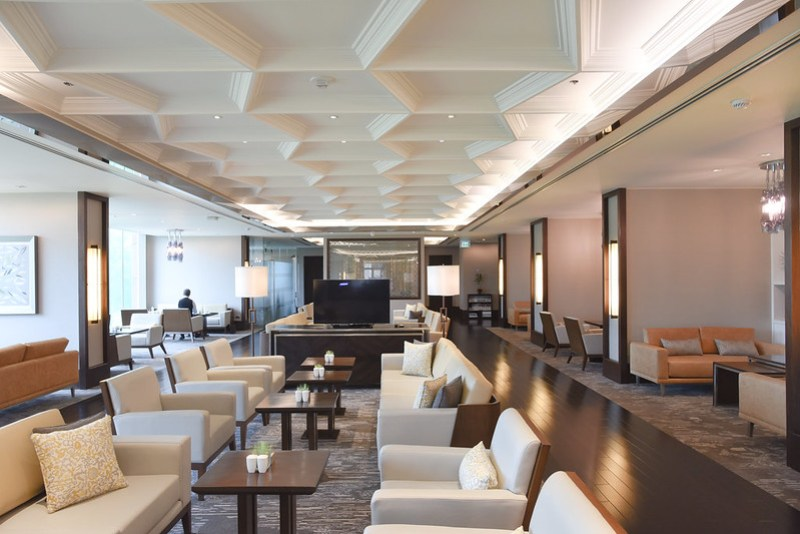 executive lounge - marriott manila