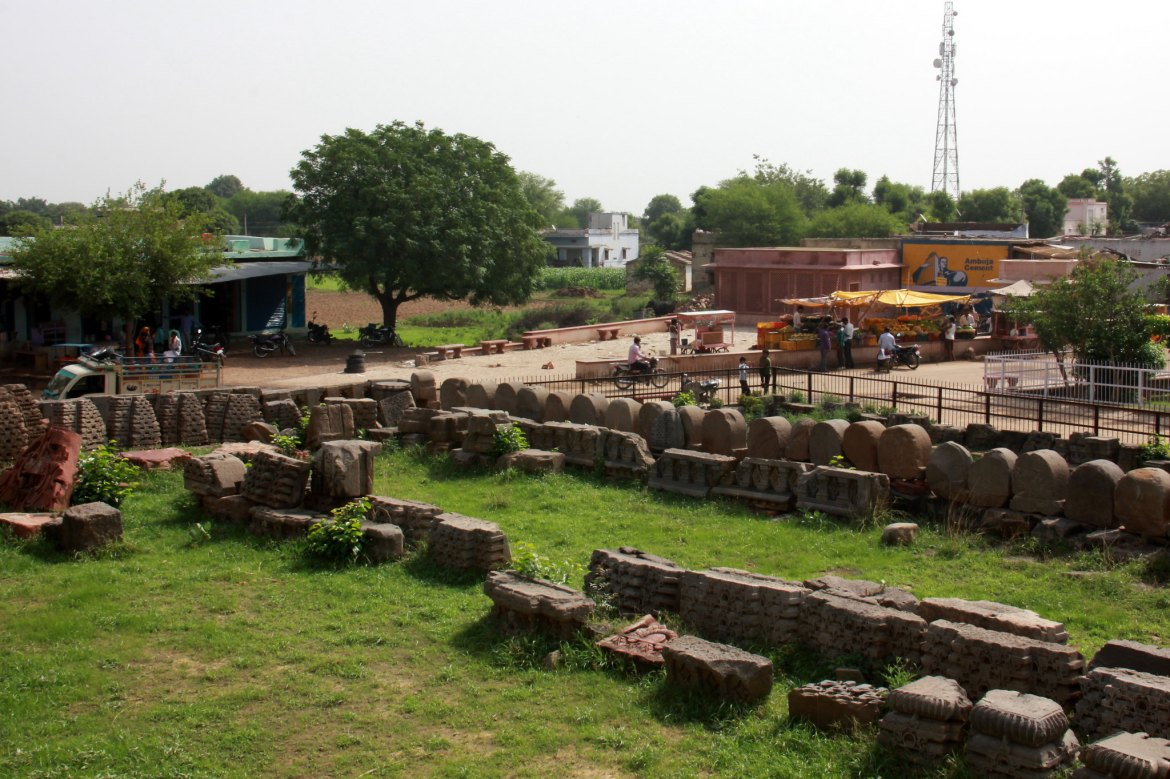 Abhaneri Stepwell is located in Dausa