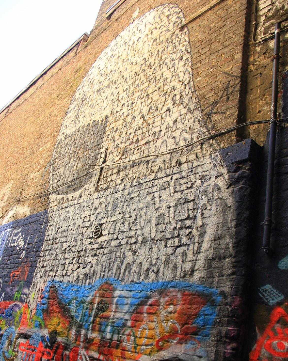 Ghent street art at Graffiti Lane