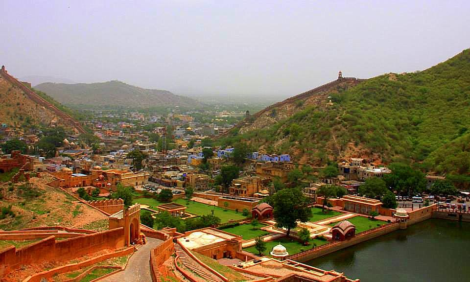 Beautiful views of Amer in Jaipur photo blog