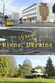 It's a Bit Strange to Visit Rivne Ukraine