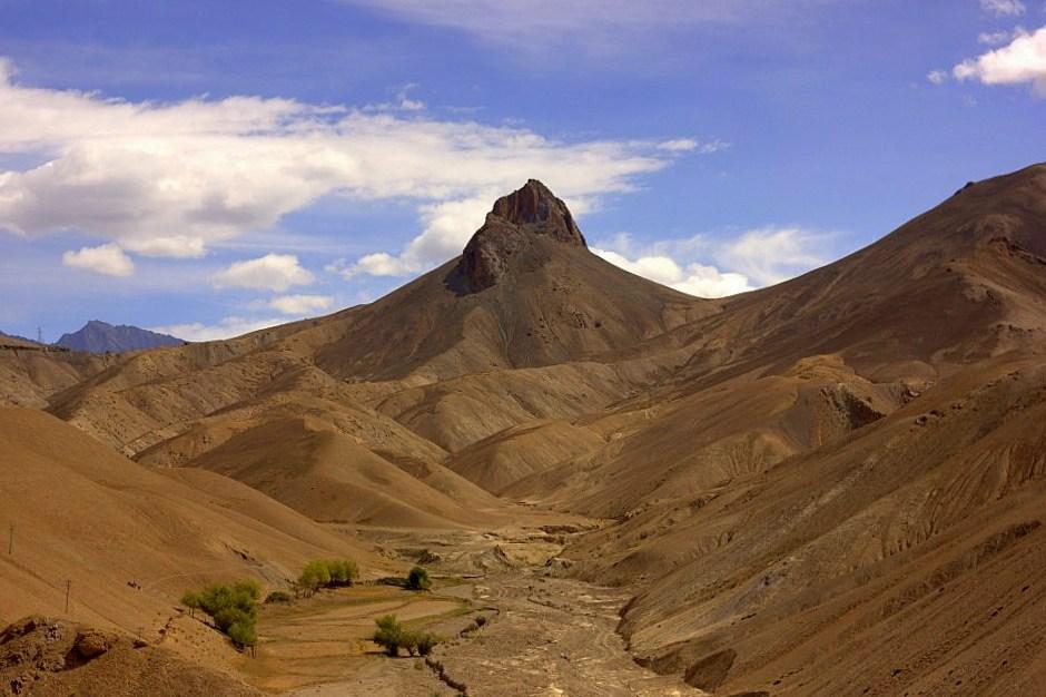 High altitude mountains of Ladakh