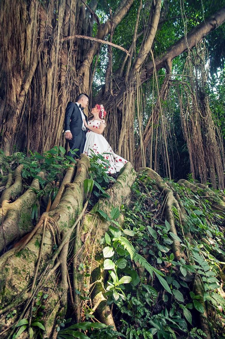 gofotovideo prewedding di Institut Pertanian Bogor IPB 0168
