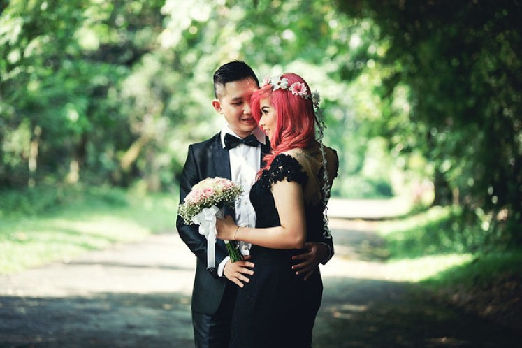 gofotovideo prewedding di Institut Pertanian Bogor IPB 0128