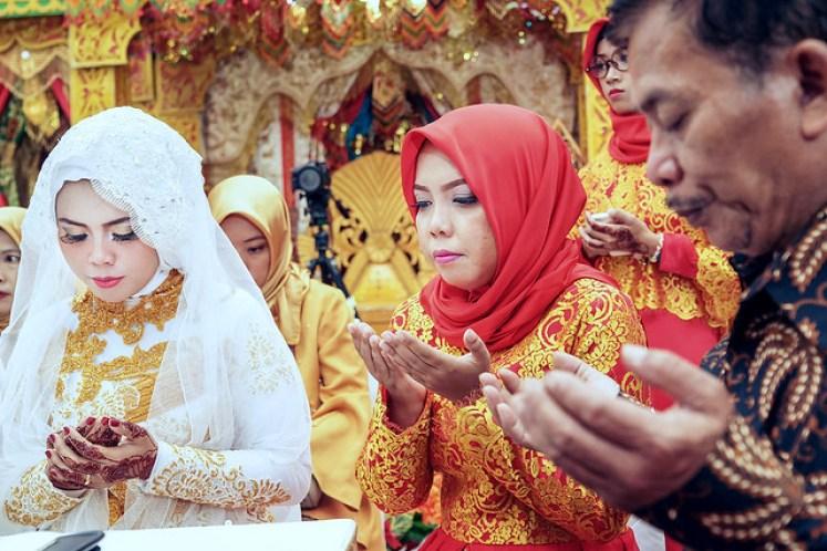 gofotovideo pernikahan adat minang di graha wredatama 125