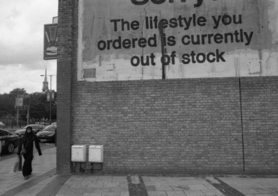 The Lifestyle you ordered is currently out of stock ...