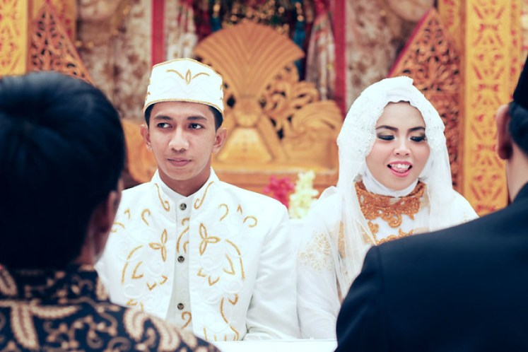 gofotovideo pernikahan adat minang di graha wredatama 159