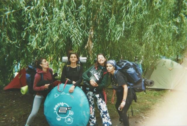 Garorock Festival Camping sac à dos tente