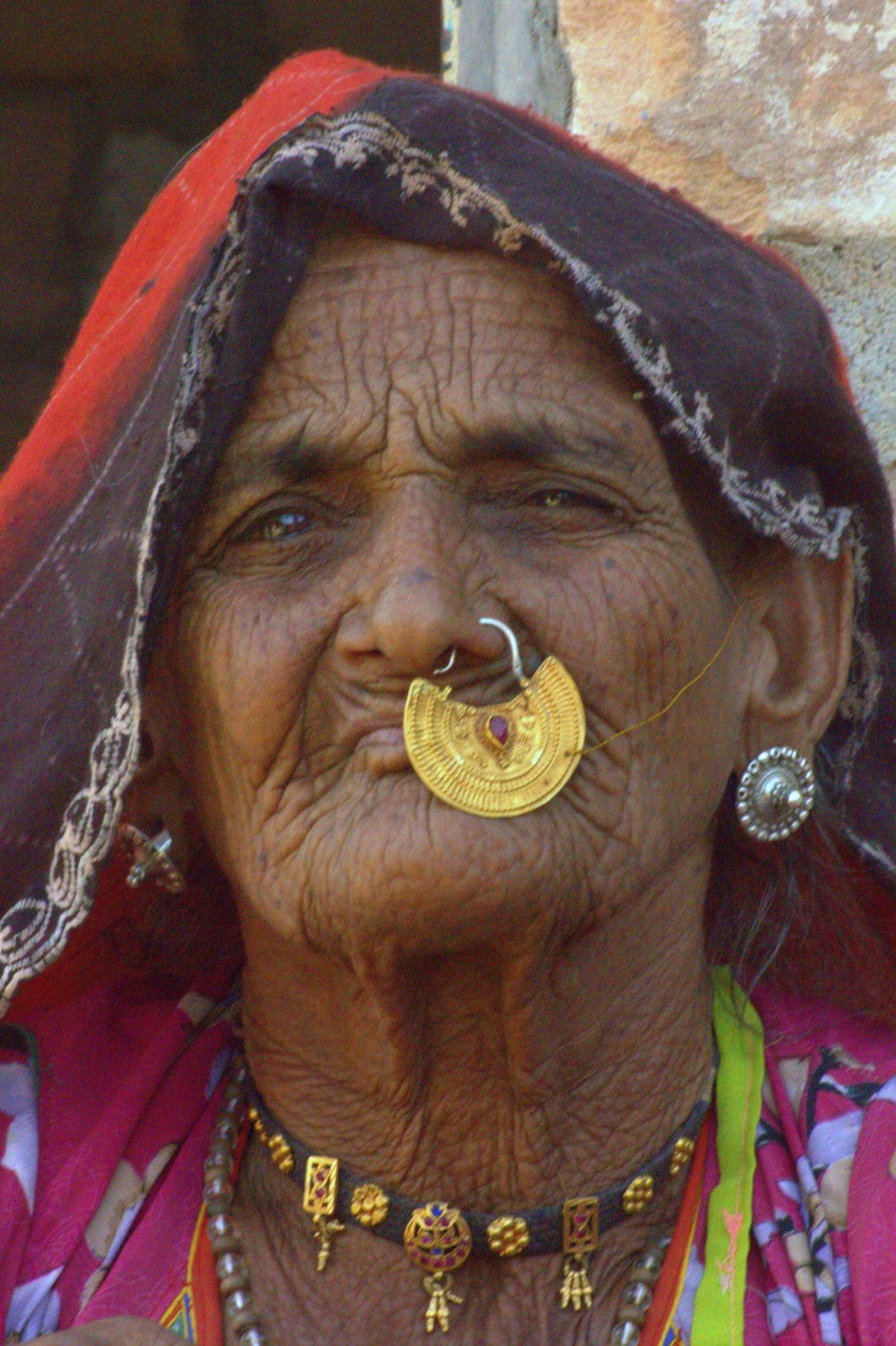 An old woman of Salawas