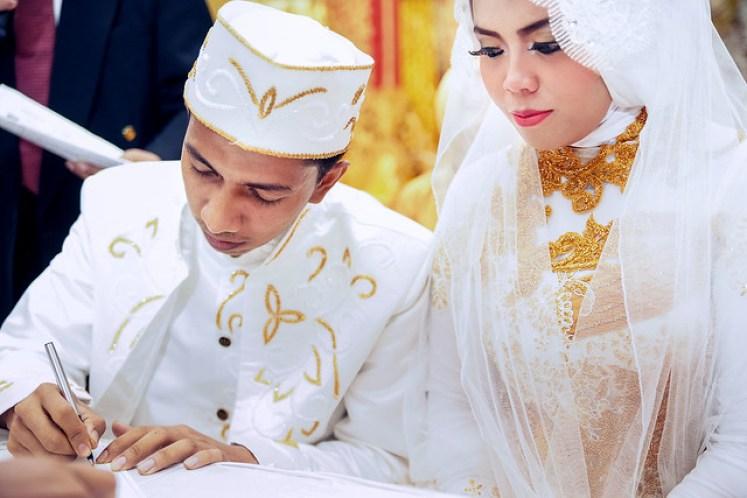 gofotovideo pernikahan adat minang di graha wredatama 126