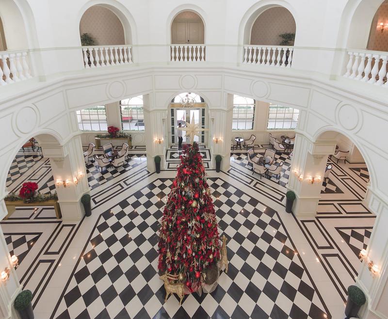 lobby of rizal park hotel manila
