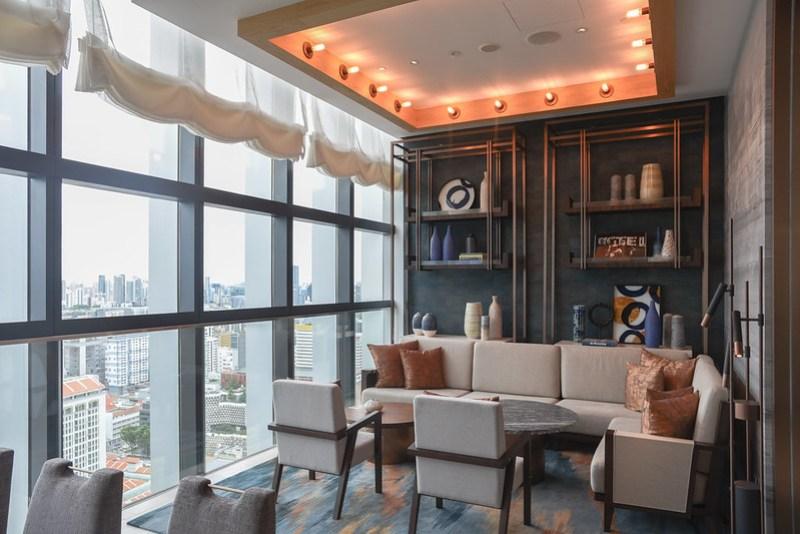 lobby of andaz singapore
