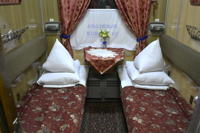 Ukraine Travel FAQ - First Class Overnight Train in Ukraine