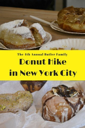 The 4th Annual Donut Hike in New York City