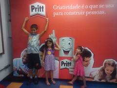 Oficina Criatividade com a Pritt