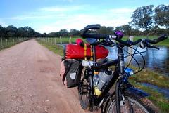 Beautiful bike, beautiful landscape