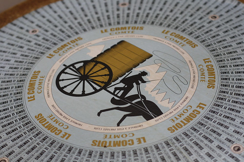 Comté cheese label
