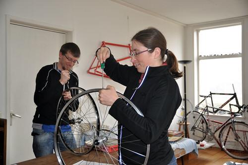 Wheel building workshop
