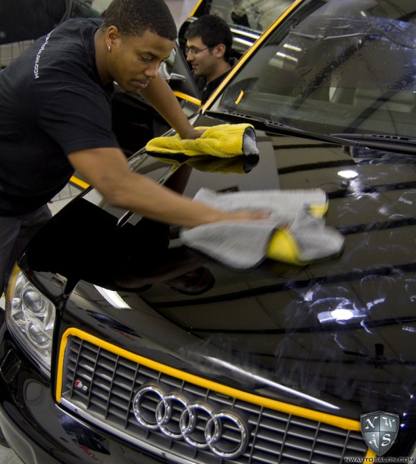 Seattle Auto Detailing NorthWest Auto Salon QuattroWorld S6 Avant