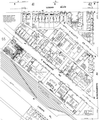 1950: The Mega Mall Block, Logan Square