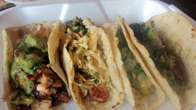 la carreta's tacos in a box