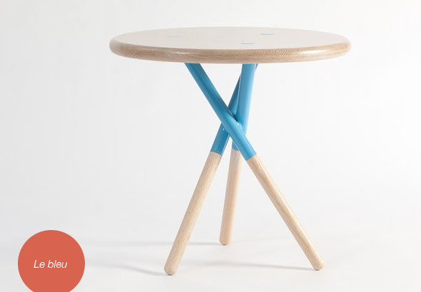 soft side table curtis popp blue