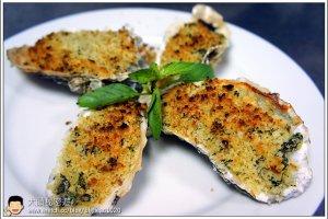 [西餐]海鮮類 酥烤橄欖油淡菜(生蠔)
