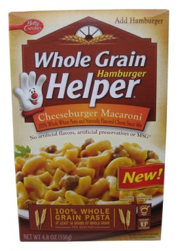 Betty Crocker Cheeseburger Macaroni Whole Grain Hamburger Helper