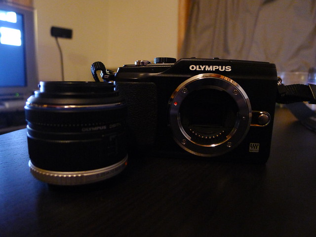 Olympus E-PL2 w/ Stock Lens
