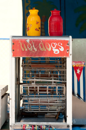 Hot dogs in Cuba