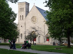 St. James Episcopal Church at the West Baltimore Squares Spring Celebration