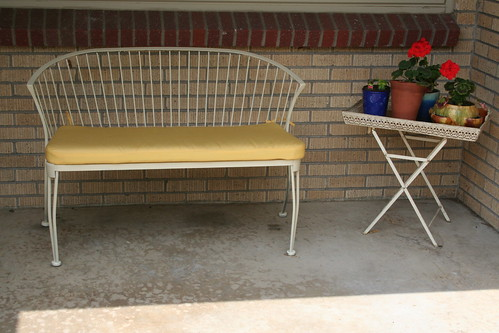 Bench, after