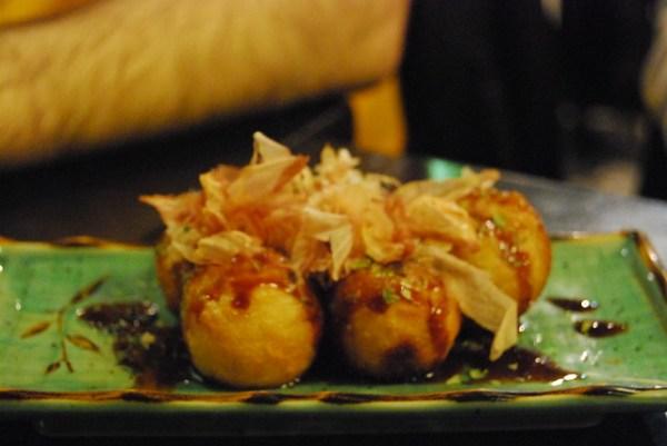 Takoyaki del Wasabi Barcelona