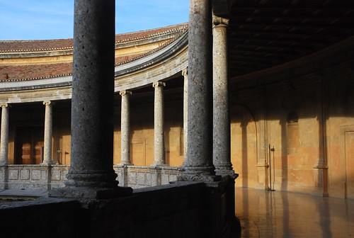 Fading Light At The Alhambra