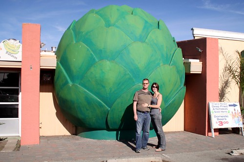 castroville, the artichoke center of the world