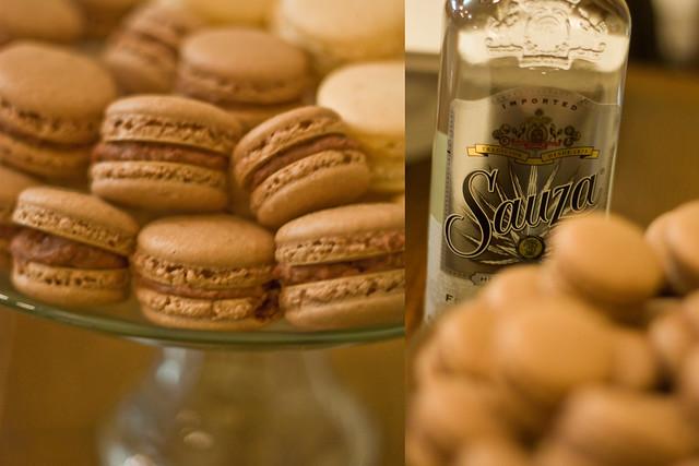 Chocomintarita Macarons