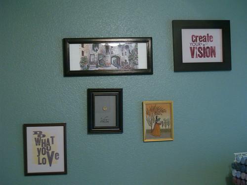 Art in my studio