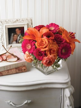 Flowers on a Nightstand