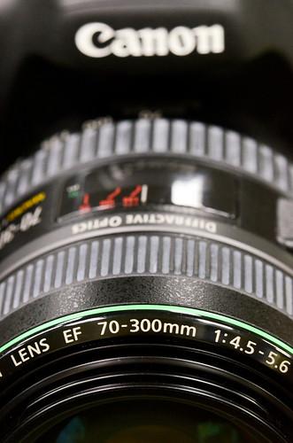 Canon 70-300mm DO lens diffractive optics
