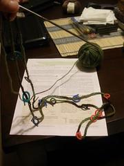 WIP: Springish Crocus Scarf (Interweave Crochet)