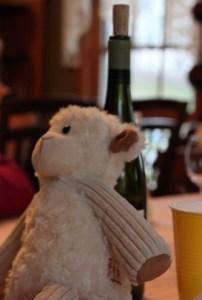 drunk lamb!