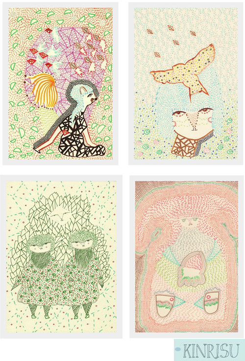 Etsy Take Five Tuesday: Fresh Prints for Spring!