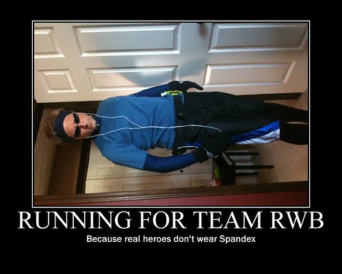 Running for Team RWB