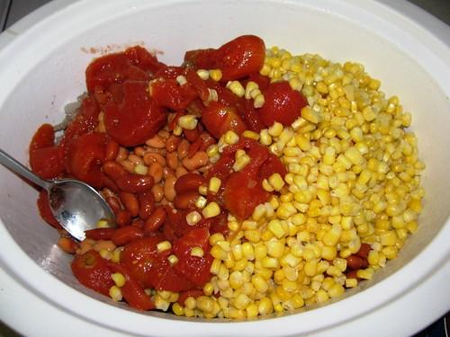 Slowcooker Taco Soup